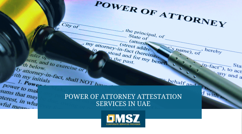 Power of Attorney Attestation