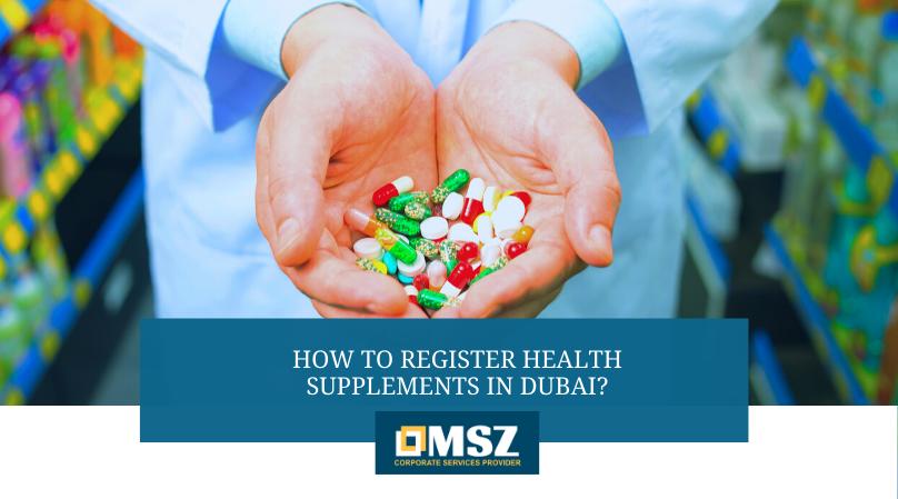 Health Supplement Registration