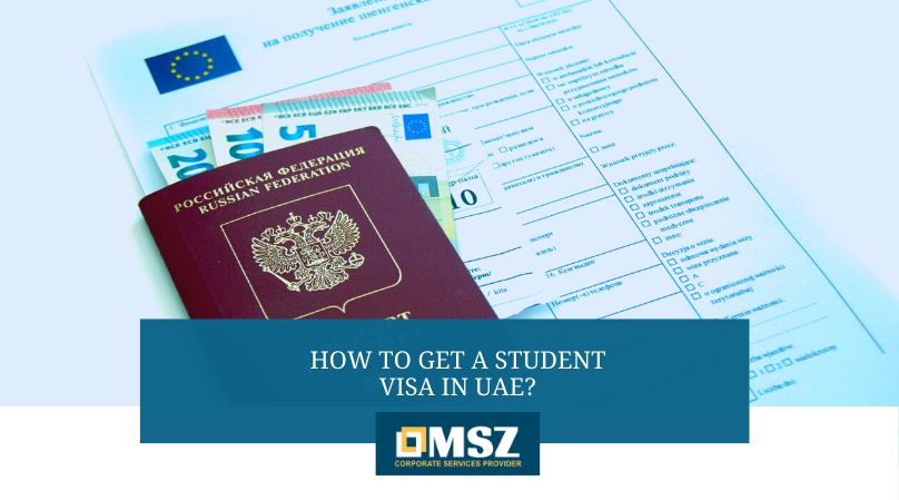 How to get a student visa in UAE?