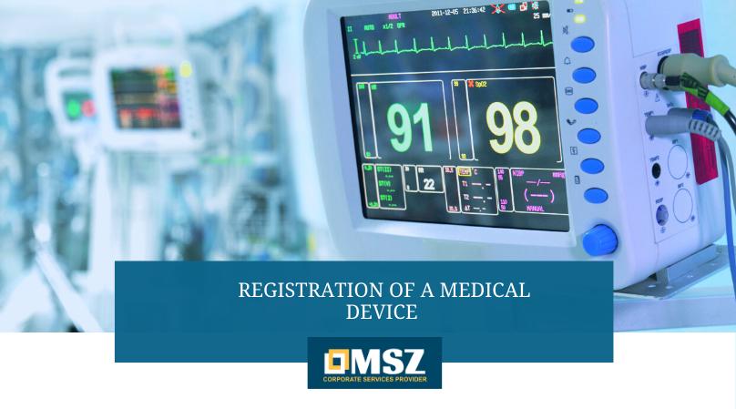 Registration of Medical Device