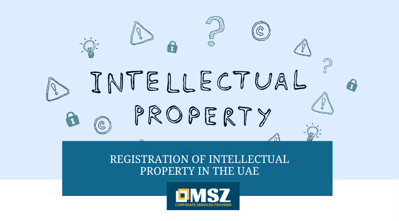 Registration of Intellectual property