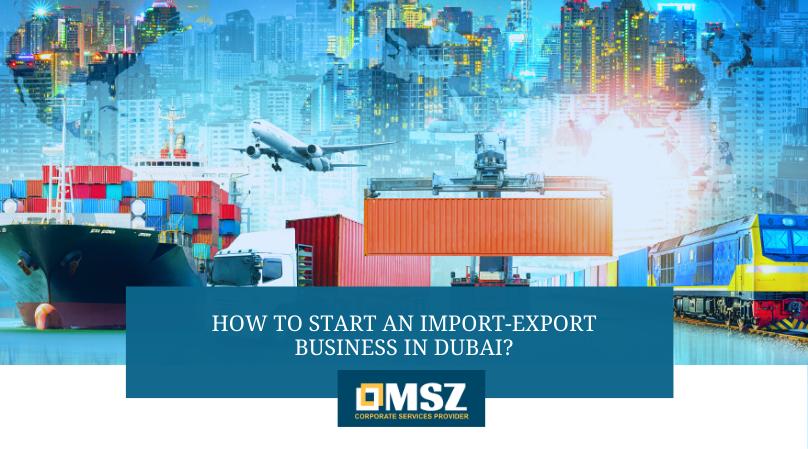 Import export business in Dubai