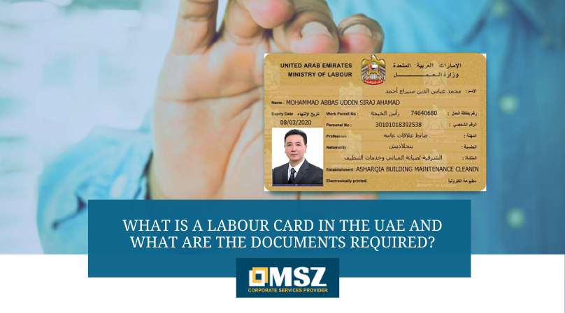 Labour card in the UAE