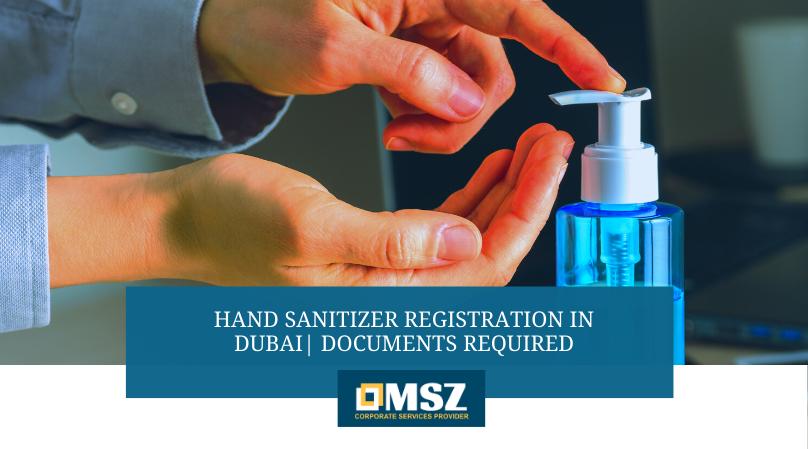 Hand Sanitizer Registration in Dubai