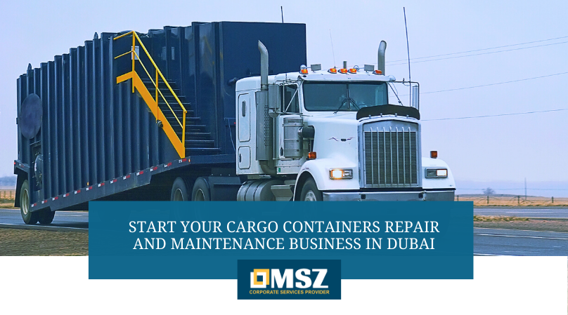 Cargo Containers Repair and Maintenance Business