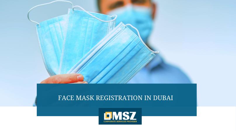 Face mask registration in Dubai