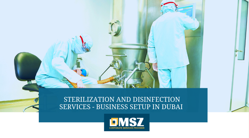 Sterilization and Disinfection Business setup in Dubai