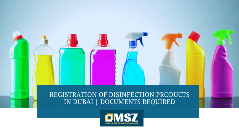 Disinfection product registration