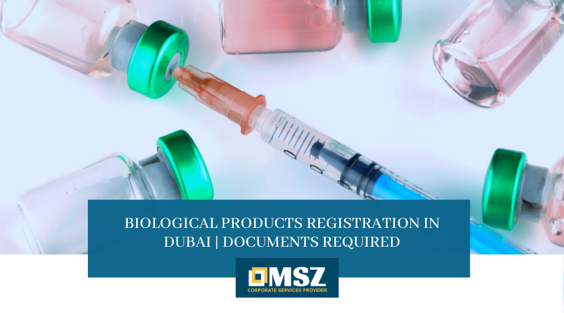 Biological products registration In Dubai
