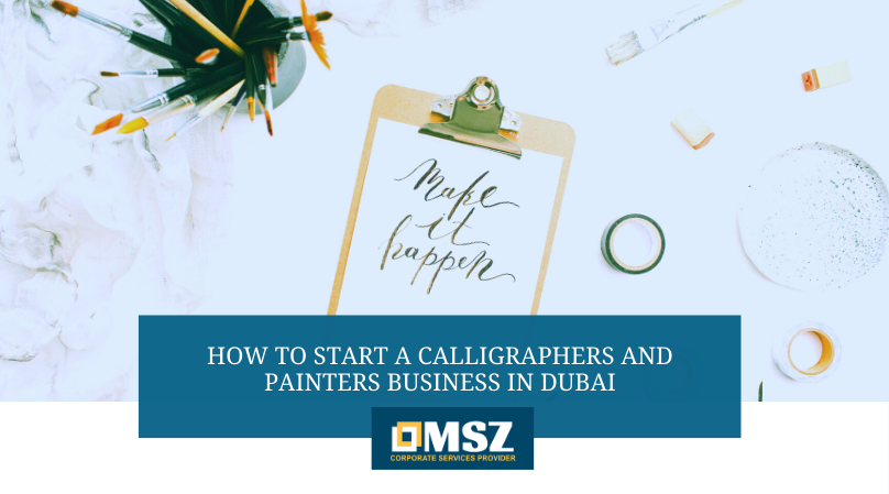 Calligraphers and Painters Business in Dubai