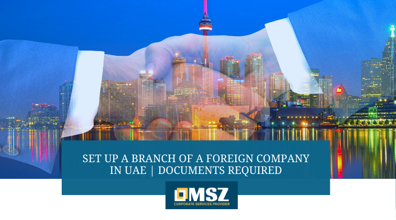 Branch of a foreign company in UAE