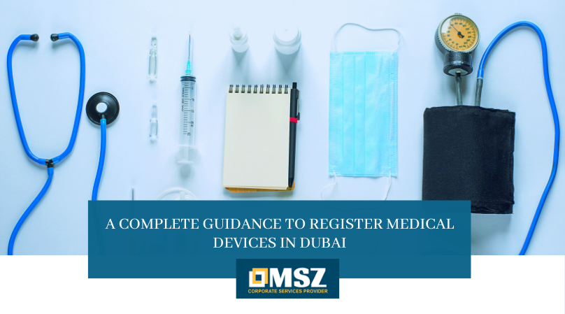 Register medical devices in Dubai