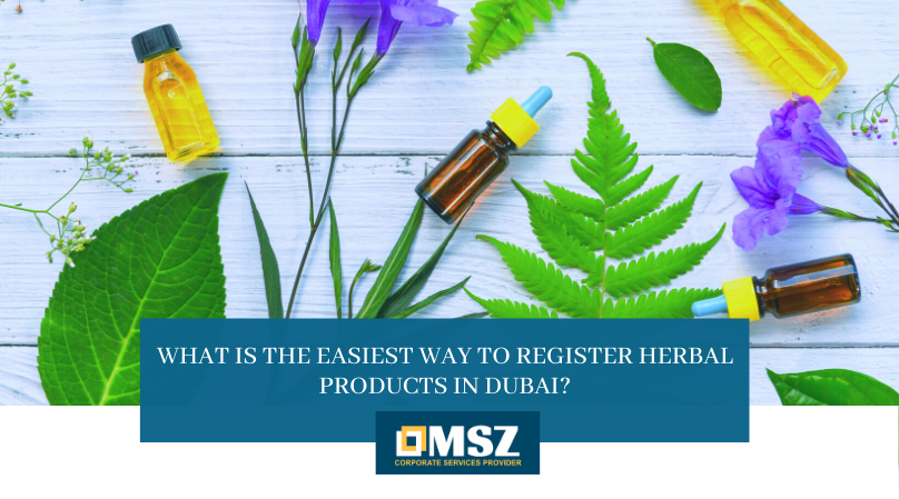 Register Herbal Products in Dubai
