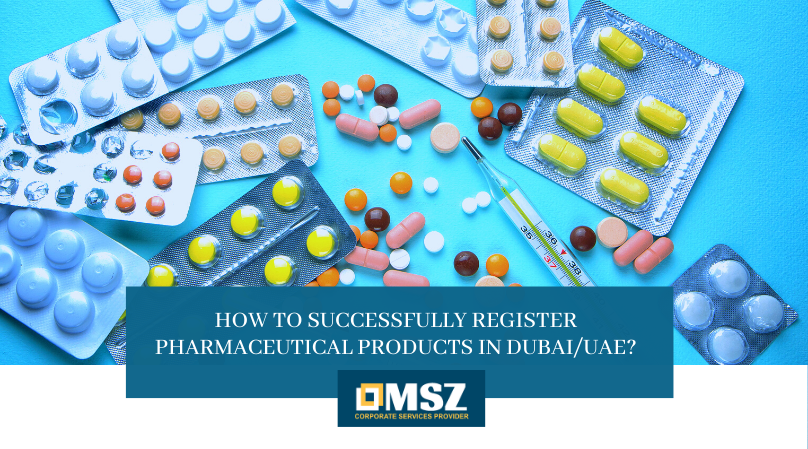 Register Pharmaceutical Products in Dubai/UAE