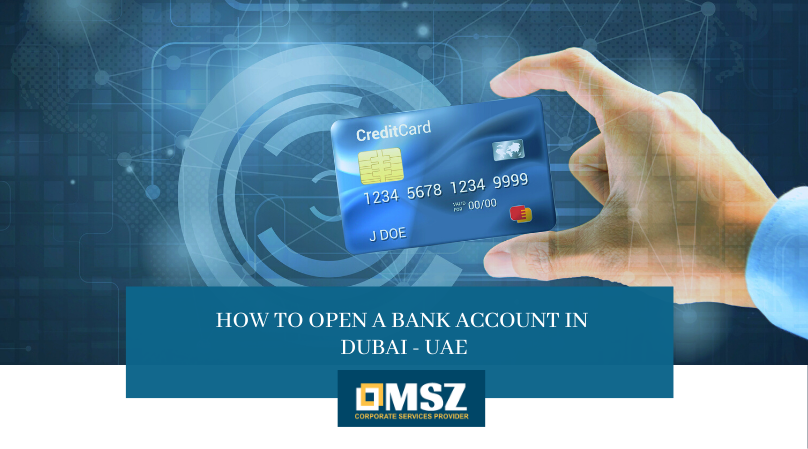 Opening a bank account in Dubai UAE
