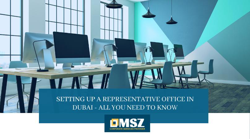 Representative office in Dubai