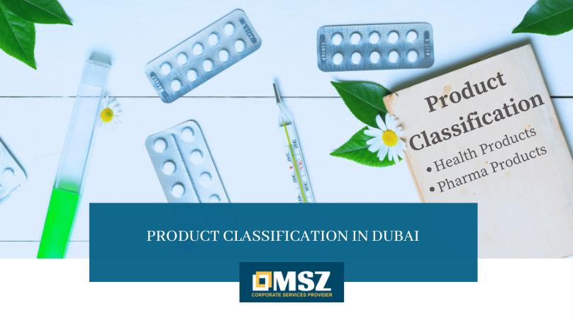 Product classification in Dubai