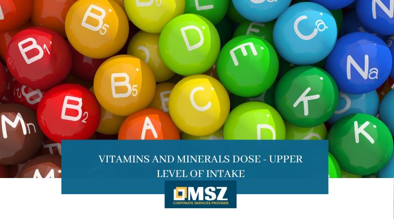 Vitamins and Minerals Dose in Dubai