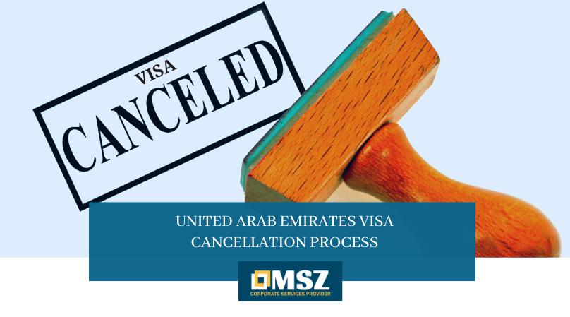 UAE visa cancellation process
