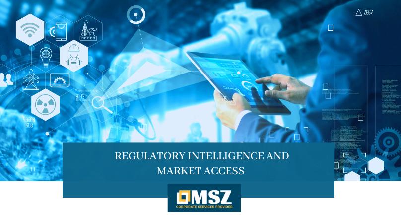 Regulatory Intelligence and market access