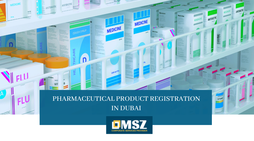 Pharmaceutical product registration in Dubai