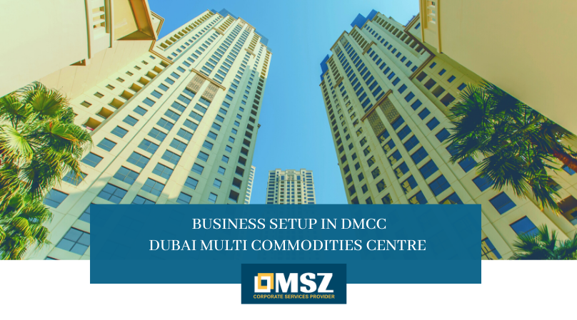 Business setup in DMCC
