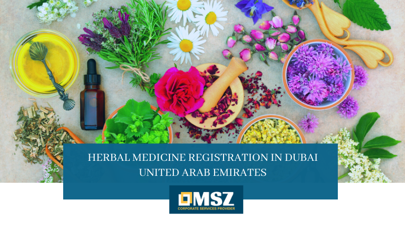 Herbal Medicine Registration in Dubai