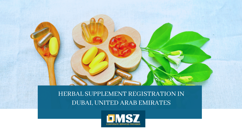 Herbal Supplement Registration