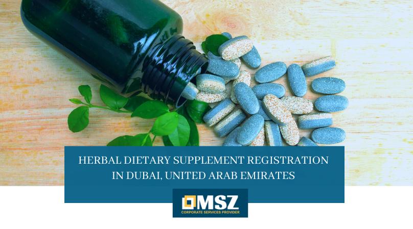 HERBAL DIETARY SUPPLEMENT REGISTRATION IN DUBAI