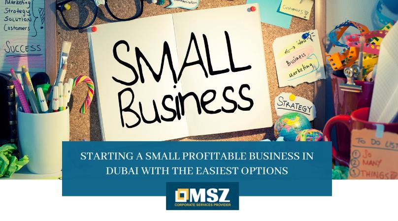 Starting a small profitable business in Dubai